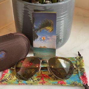 Maui Jim Unisex Pilot Aviator Sunglasses